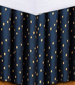 Donna Sharp® Navy Star Bed Skirt