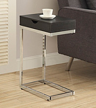 Monarch Picardy Cappuccino Accent Table With Drawer