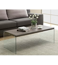 Monarch Milwaukee Tempered Glass Cocktail Table
