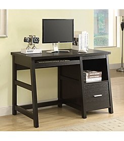 Monarch Graw Cappuccino Computer Desk With A Storage Drawer