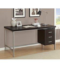 Monarch Britney Cappuccino Office Desk