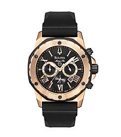 Bulova® Men's Marine Star Strap Watch