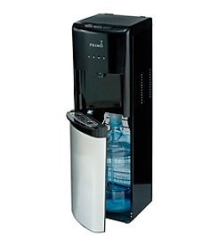 Primo Black and Stainless Steel Bottom Loading Hot/Cold Water Dispenser