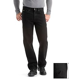 Lee® Men's Black 'Core' Regular Fit Jeans