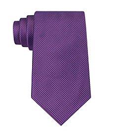 Calvin Klein Men's Micro-Solid 'B' Silk Tie