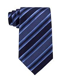 Kenneth Cole REACTION® Men's Blue 'Tony' Striped Silk Tie