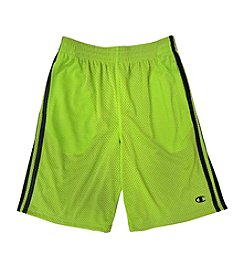 Champion® Boys' 2T-20 Mesh Shorts with Double Stripes