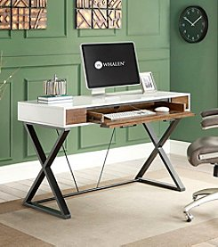 Whalen Furniture Samford Contemporary Computer Desk