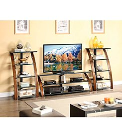 Whalen Furniture Braxton Home Entertainment Center