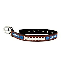 GameWear™ NFL® Detroit Lions Classic Leather Football Pet Collar