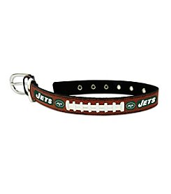 New York Jets GameWear™ Classic Leather Football Pet Collar