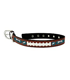 Philadelphia Eagles GameWear™ Classic Leather Football Pet Collar
