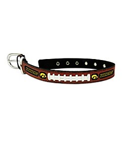 University of Iowa Hawkeyes GameWear™ Classic Leather Pet Collar