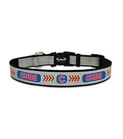 MLB® Chicago Cubs Reflective Baseball Pet Collar