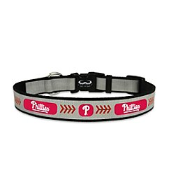 MLB® Philadelphia Phillies Reflective Baseball Pet Collar