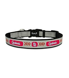 MLB® St. Louis Cardinals Reflective Baseball Pet Collar