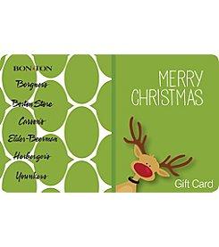 Gift Card - Reindeer