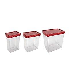 ClickClack Kitchen Essentials 3-pc. Large Storage Containers