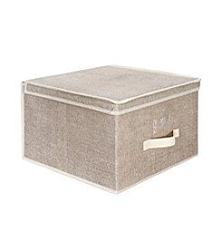Simplify Burlap Storage Box