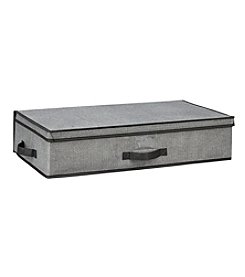 Simplify Gray Under-The-Bed Storage Box