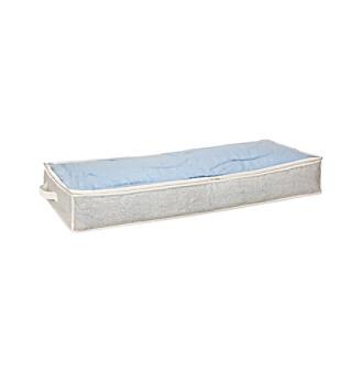 Simplify Beige Under-The-Bed Window Storage Bag