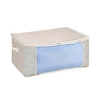 Simplify Beige Blanket Bag with Cream Trim