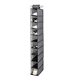Simplify Gray 10-Shelf Hanging Organizer