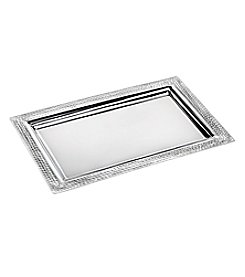 Marquis by Waterford® Vintage Stainless Steel Tray