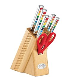 Fiesta® Masquerade 7-pc. Cutlery Set with Oak Block