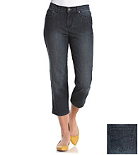 Relativity® Five Pocket Denim Capris