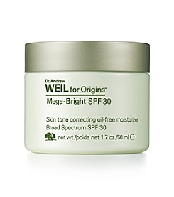 Origins Dr. Andrew Weil for Origins™ Mega-Bright SPF 30 Skin Tone Correcting Oil Free Moisturizer
