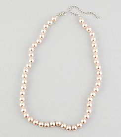 Studio Works® Pearl Pink Strand Necklace