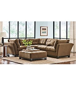 HM Richards® Espresso Beckham 2-pc. Sectional