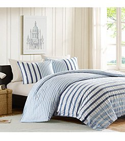 INK+IVY Blue Colorway 3-pc. Duvet Set