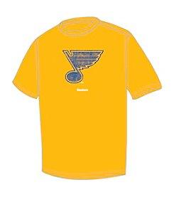 NHL® Men's Big & Tall St. Louis Blues Short Sleeve Faded Logo Tee