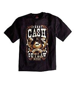 True Nation™ Men's Black Big & Tall Johnny Cash