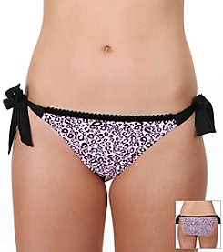 Betsey Johnson® Purfection String Bikini Bottom