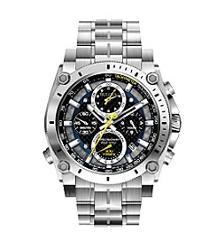 Bulova® Men's Stainless Steel Precisionist Chronograph Watch