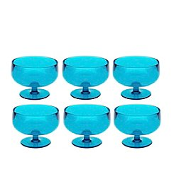 Zak Designs® Stacky Set of 6 Azure Dessert Bowls