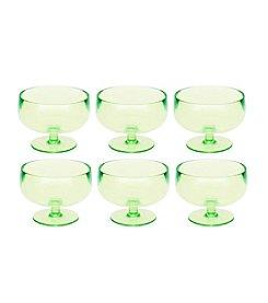 Zak Designs® Stacky Set of 6 Kiwi Dessert Bowls