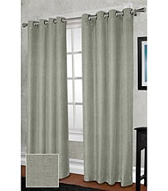 Exclusive Home Rita Heavy Weight Textured Linen Look Grommet Panels