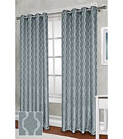 Exclusive Home Baroque Textured Linen Look Jacquard Panels