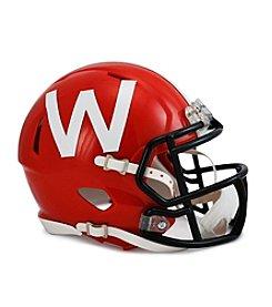 Riddell® Red 2012 Wisconsin VSR4 Replica Helmet