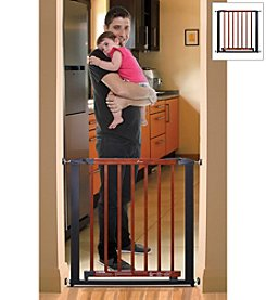 Dreambaby® Silver with Dark Wood Windsor Gate