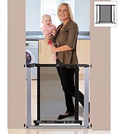 Dreambaby® Silver with Dark Wood Metropolitan Gate