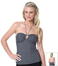 Malibu Polka Dot® Lots Of Dots Bandeaukini Swim Top