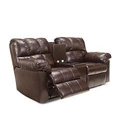 Berkline® Curiosity Power Reclining Sofa with Console
