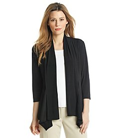 Evan Picone® Solid Cardigan Jacket