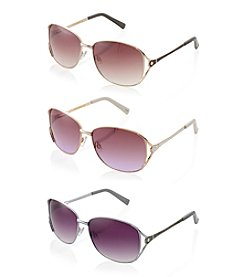 Steve Madden Metal Glam Sunglasses