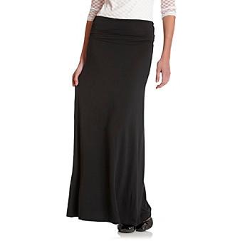 Cable & Gauge® Sport Knit Maxi Skirt